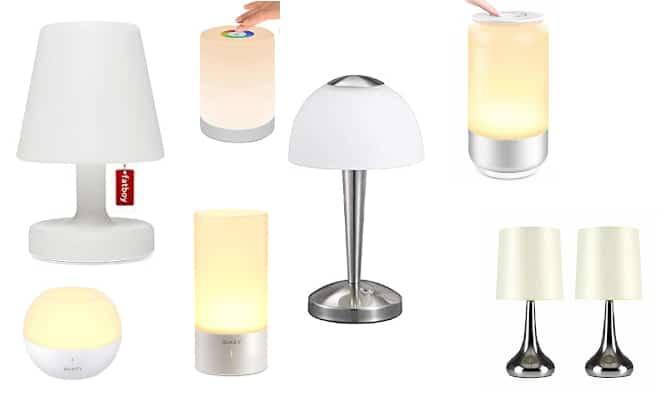 Tipos de lampara tactil actuales